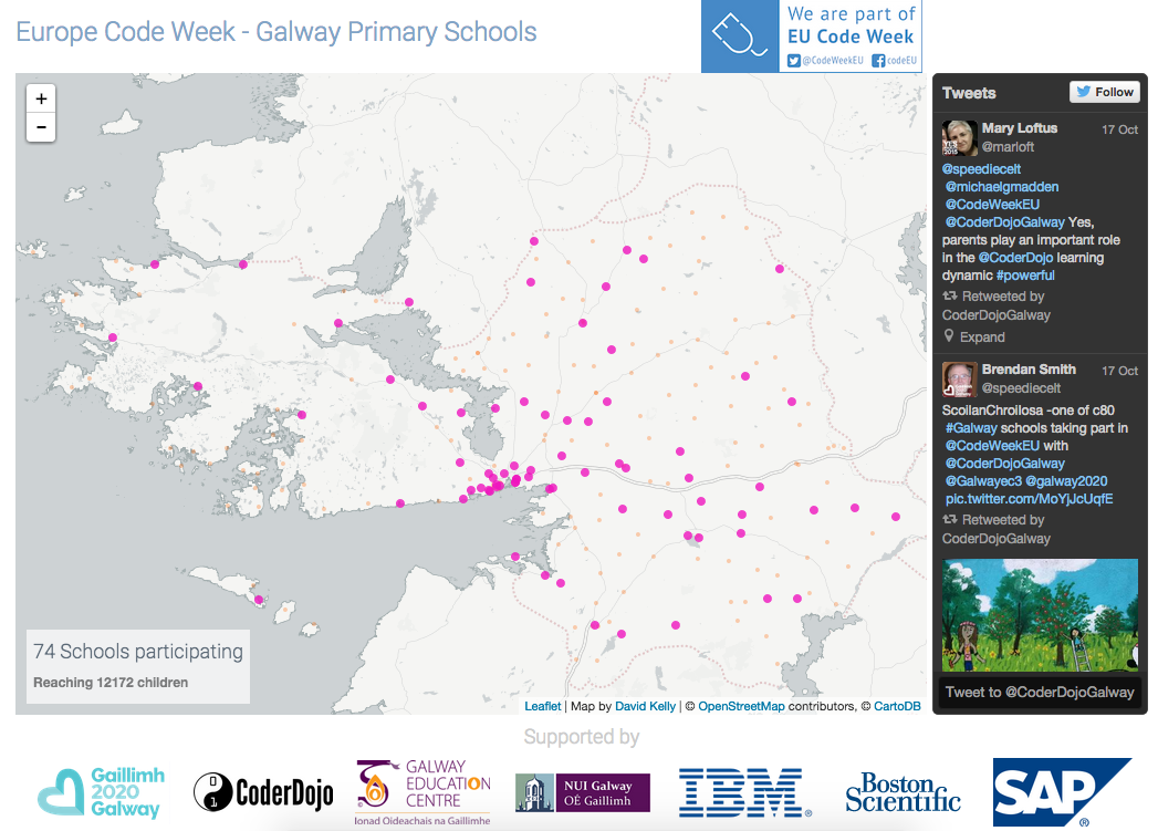 Galway Primary Schools - Hour of Code